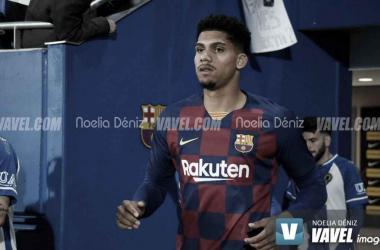 Araujo la pasada temporada con el FC Barcelona. Foto: Noelia Déniz