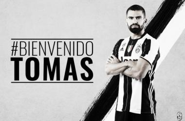 Tomás Rincón, nuevo jugador de la Juventus