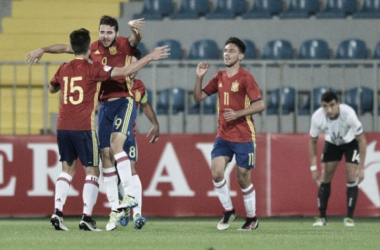 Selección Española Sub-19 (FOTO:twitter fútbol juvenil)