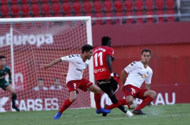 Partido del C.A Osasuna en su partido ante el Maloorca<div>Fotografía: La liga 123</div>