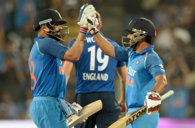 India vs England - 1st ODI: Kohli leads the way with ton as hosts chase 351 for victory