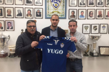 Carlos Saavedra ficha por el Socuéllamos | Foto: YUGO UD Socuéllamos