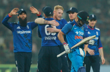 India vs England - 3rd ODI: England win final ODI by five runs to claim first victory on tour