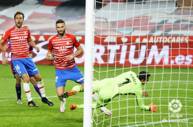 Granada CF - Real Valladolid: puntuaciones del Granada, jornada 10 de LaLiga