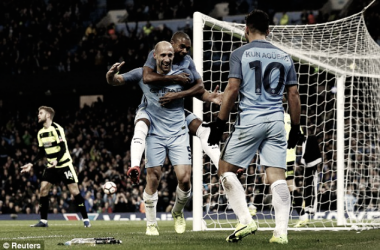 El Manchester City se come al Huddersfield