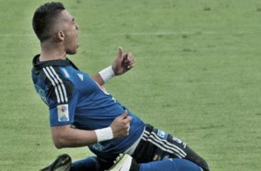 Fernando Uribe fue el goleador de la Liga Águila-I con 15 goles convertidos