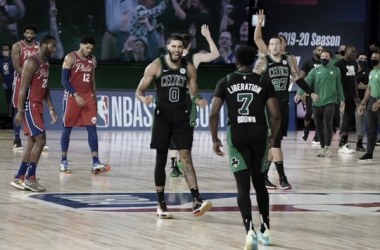 """Crónica NBA: Los """"Jays"""" son más que suficientes para vencer a los 76ers de Embiid"""