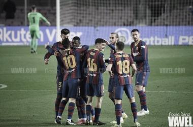 El Barça culmina la 'remontada' en el Camp Nou | Foto: Noelia Déniz - VAVEL