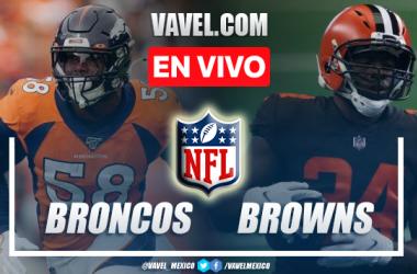 Resumen y anotaciones del Broncos 14-17 Browns en NFL 2021
