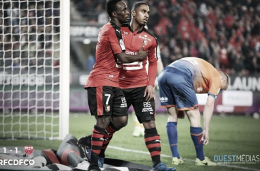 Stade Rennais 1-1 Dijon FCO: Another day, another draw for hosts