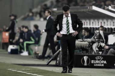 """Hecking: """"No sé qué pitó Clattenburg en el penalti"""""""