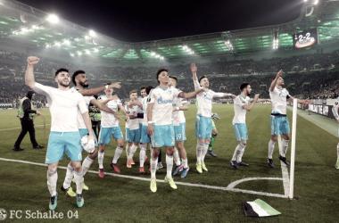 Lo Schalke vola ai quarti di Europa League grazie ai gol in trasferta. Foto: Twitter