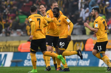 Dyanmo Dresden 2-0 SV Sandhausen: Berko and Heise end home drought
