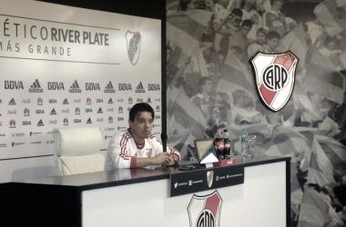 Gallardo, contento con el presente del equipo (Foto: @brunoecolombo)
