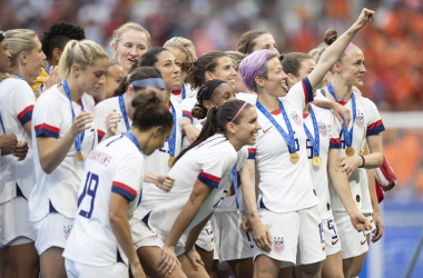 The ever  evolving landscape of international soccer means changes are coming to the USWNT. (photo via slate.com)