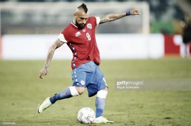 Arturo Vidal- Fecha 2- Chile 1- Bolivia 0