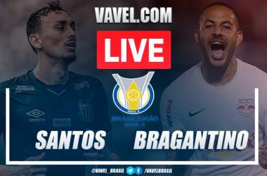Gols e melhores momentos para Santos 1x1 Bragantino pelo Campeonato Brasileiro 2020