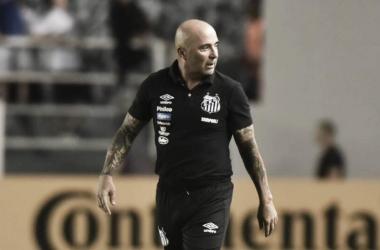 Sampaoli concorda com expulsão e acredita que Santos poderia ter empatado com o Vasco