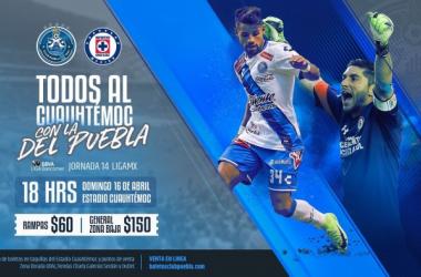 VAVEL México te llevaal Puebla vs Cruz Azul de la Jornada 14