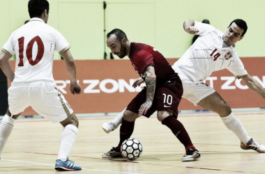 Portugal apurou-se na noite desta terça-feira o Mundial de Futsal // Foto: Lusa