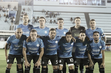 Los once que paro Orfila ante Tigre. Fuente: (Prensa Belgrano)