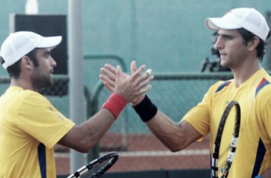 Cabal-Farah y Giraldo-Marach, afuera del ATP 500 de Valencia