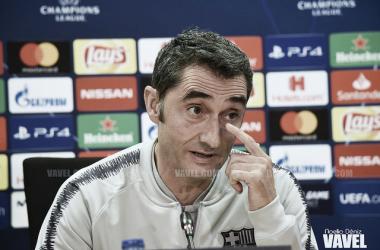 Ernesto Valverde, técnico del FC Barcelona (Foto de Archivo   Noelia Déniz (Vavel))