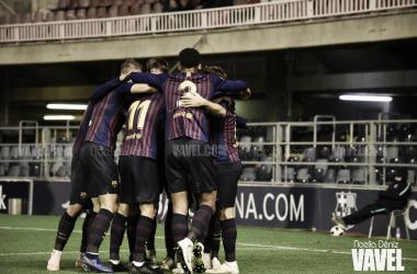 Los azulgrana buscaran sumar los tres puntos en Valencia. FOTO: Noelia Déniz