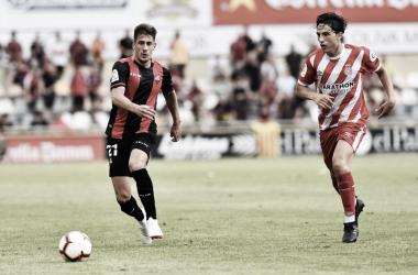 Alfred Planas ante el Girona FC   Foto: CF Reus