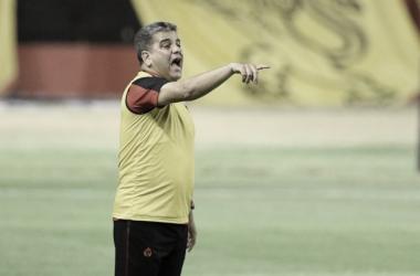 Marcelo Cabo em Sport 0 a 1 Atlético-GO (Atlético CG/Divulgação)