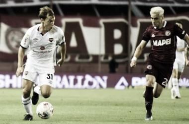 Jerónimo Cacciabue fue uno de los puntos altos en el conjunto rosarino. Convirtió tres goles en los últomos dos partidos. Fuente: (Diario Panorama)
