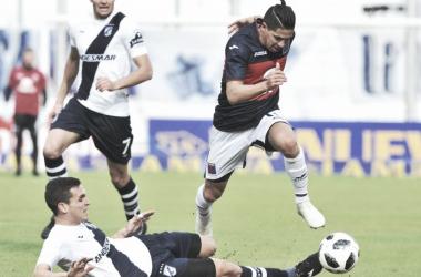 La gambeta de Morales en primera persona (Foto: Mendoza Post).
