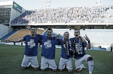 Los 155 de Cádiz reciben 25.000 € de justicia | Imagen: Real Oviedo