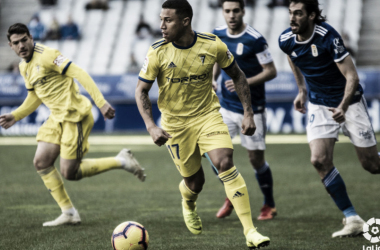 Machís debutó con gol. Fuente:cádizcf.com