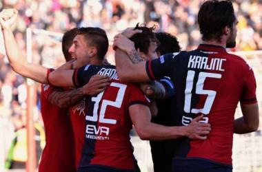 Il Cagliari frena ancora: 2-2 contro il Livorno e distacco dal Crotone invariato