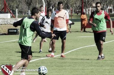 El Toro Vidal es uno de los que retornaran a la concentración. (Foto: Independiente Oficial)