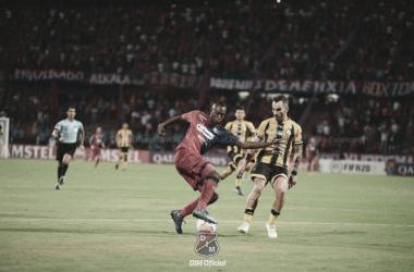 """Juan Fernando Caicedo: """"Millonarios es un equipo grande, siempre sale a buscar los partidos"""""""