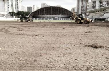 Botafogo atrasa entrega de novo gramado do Estádio Caio Martins