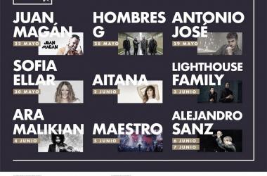 El Polo Music Festival anuncia los conciertos que tendrán lugar en esta segunda edición