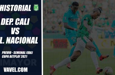 Atlético Nacional, análisis del rival: Deportivo Cali (Semifinal, ida - Copa 2021)