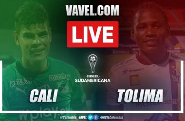 Resumen Cali vs Tolima (0-0) en vuelta de fase 1 por Copa Sudamericana 2021