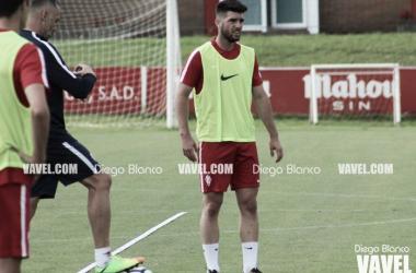 """Calavera: """"El Sporting siempre tiene que mirar a lo más alto"""""""