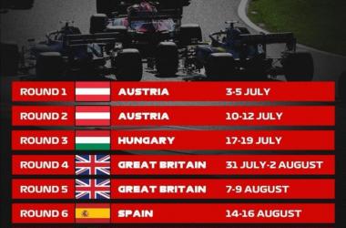 Enam Negara Siap Gelar Balapan F1