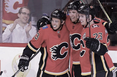 Calgary Flames (Photo Courtesy of Calgary Sun)