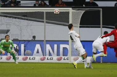 Hakan Calhanoglu unleashes a wonderful dipping strike to open the scoring