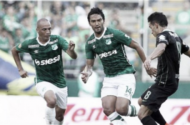 Deportivo Cali le arrebató el invicto por Liga a Nacional. | Foto: Juan Bautista / CEET