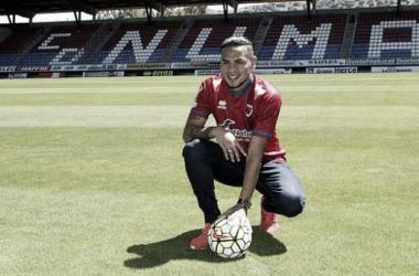 Callens podría hacer su debut el domingo 23 ante el Tenerife (FOTO: Twitter @cdnumancia)