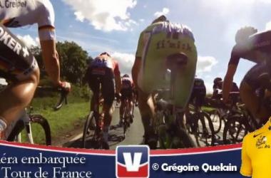 Tour de France 2014 : La première étape depuis une caméra embarquée