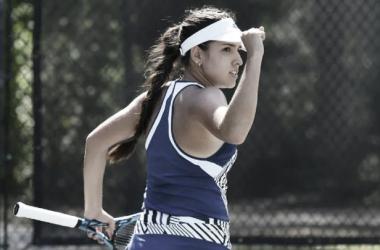 María Camila Osorio celebrá Foto: WTA Series