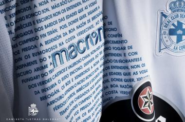 La camiseta del himno de Galicia sale a la venta